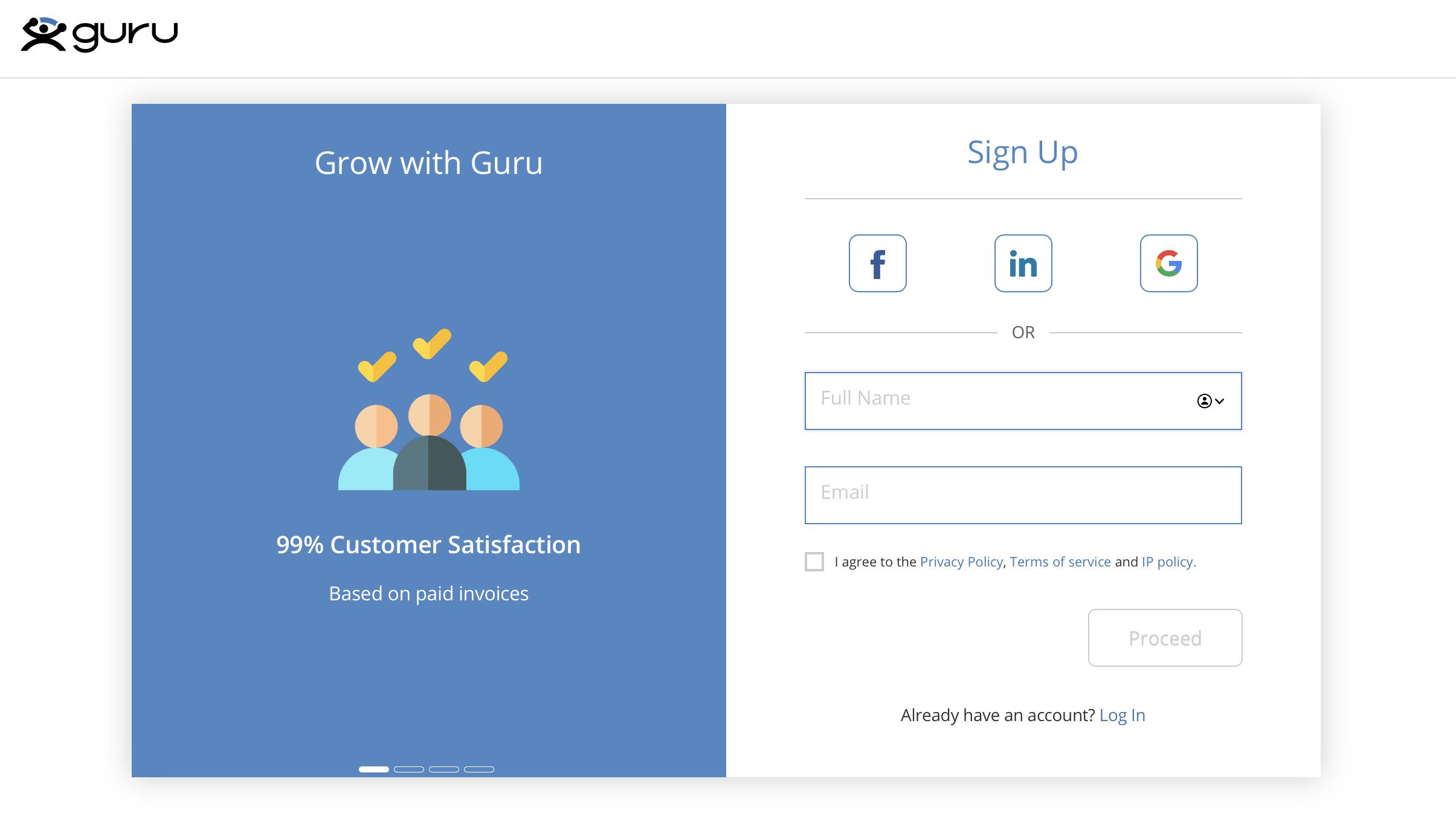 Your First Guru Account