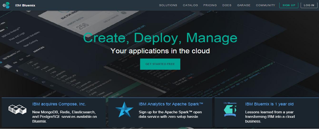 IBM – Bluemix