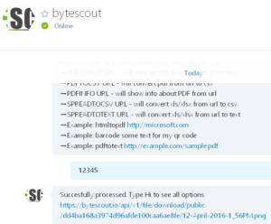 bytescout-skypebot