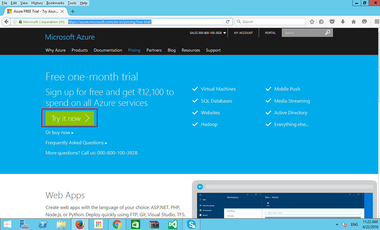 How to setup a Windows Server with ASP NET MVC App on Azure VM