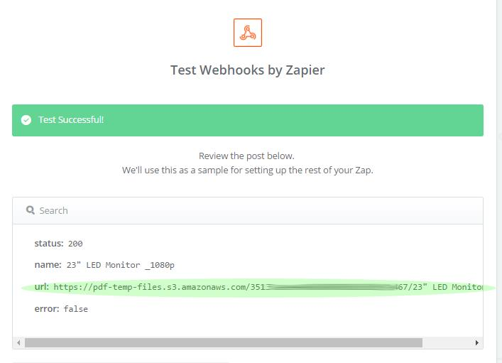 Zapier Integration Bytescout