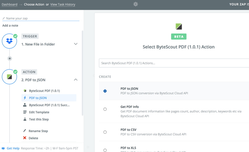 PDF Tools Zapier