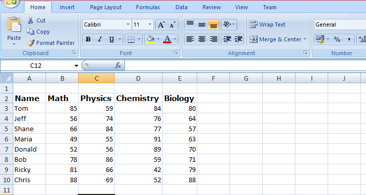 Ms Excel 2007 Advanced Formulas With Examples Pdf