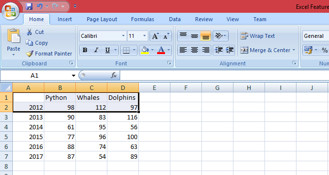 Microsoft Excel Features, Best Advanced Features of Excel - ByteScout
