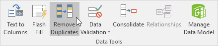 Microsoft Excel Features