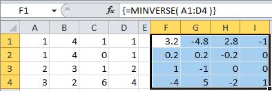 Excel Capabilities