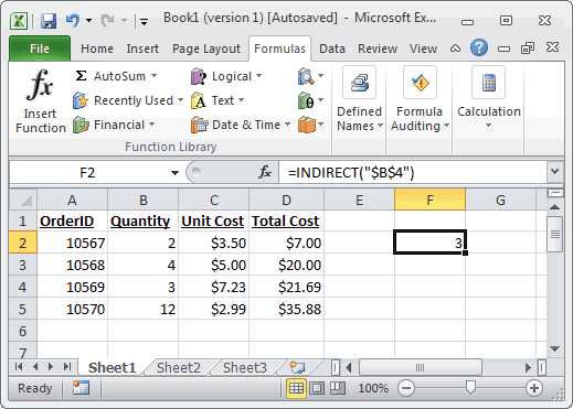Advanced Features Excel