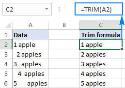 Excel Function Trim