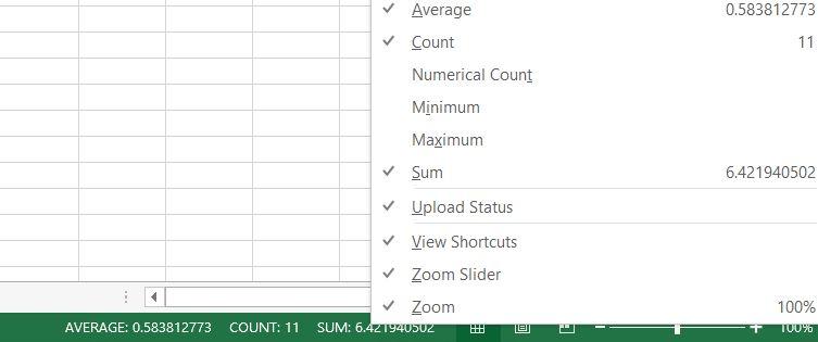 Microsoft Excel Quick Tool