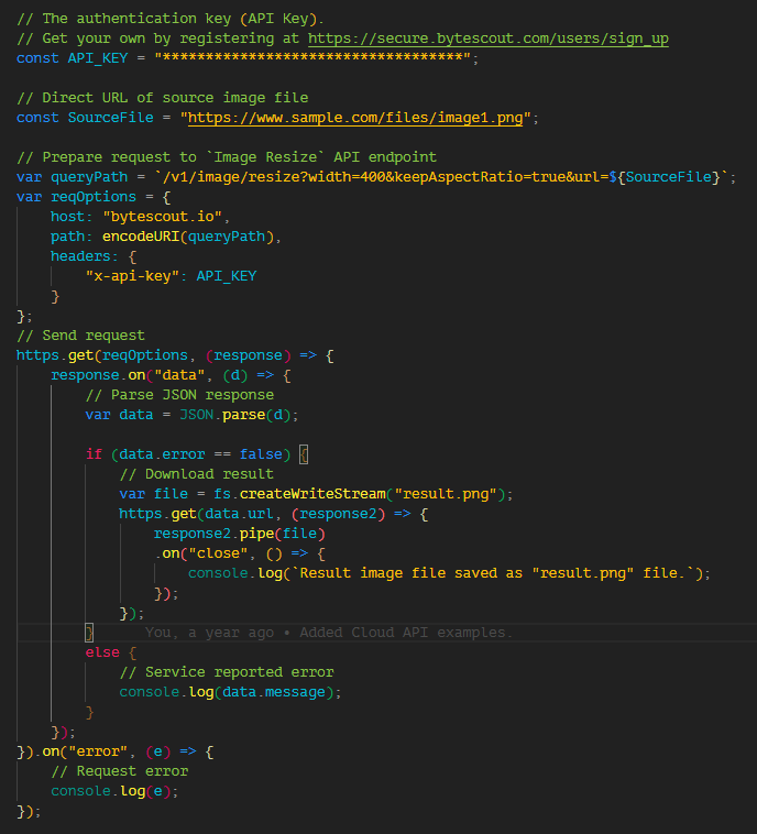 Image Resizer API