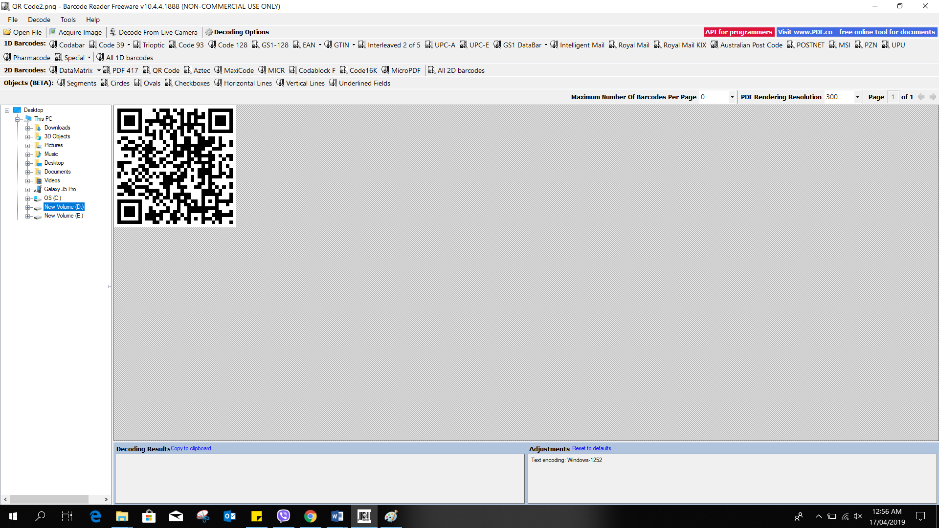 How to read QR codes with BarCode Reader - ByteScout
