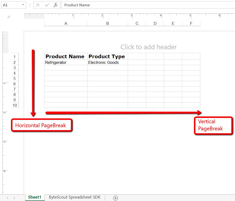 Format Excel SDK