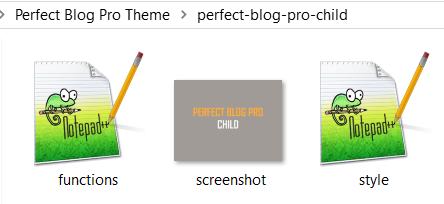 Child Theme Start