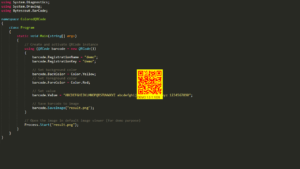 QR Code SDK - Create Colored QR Code