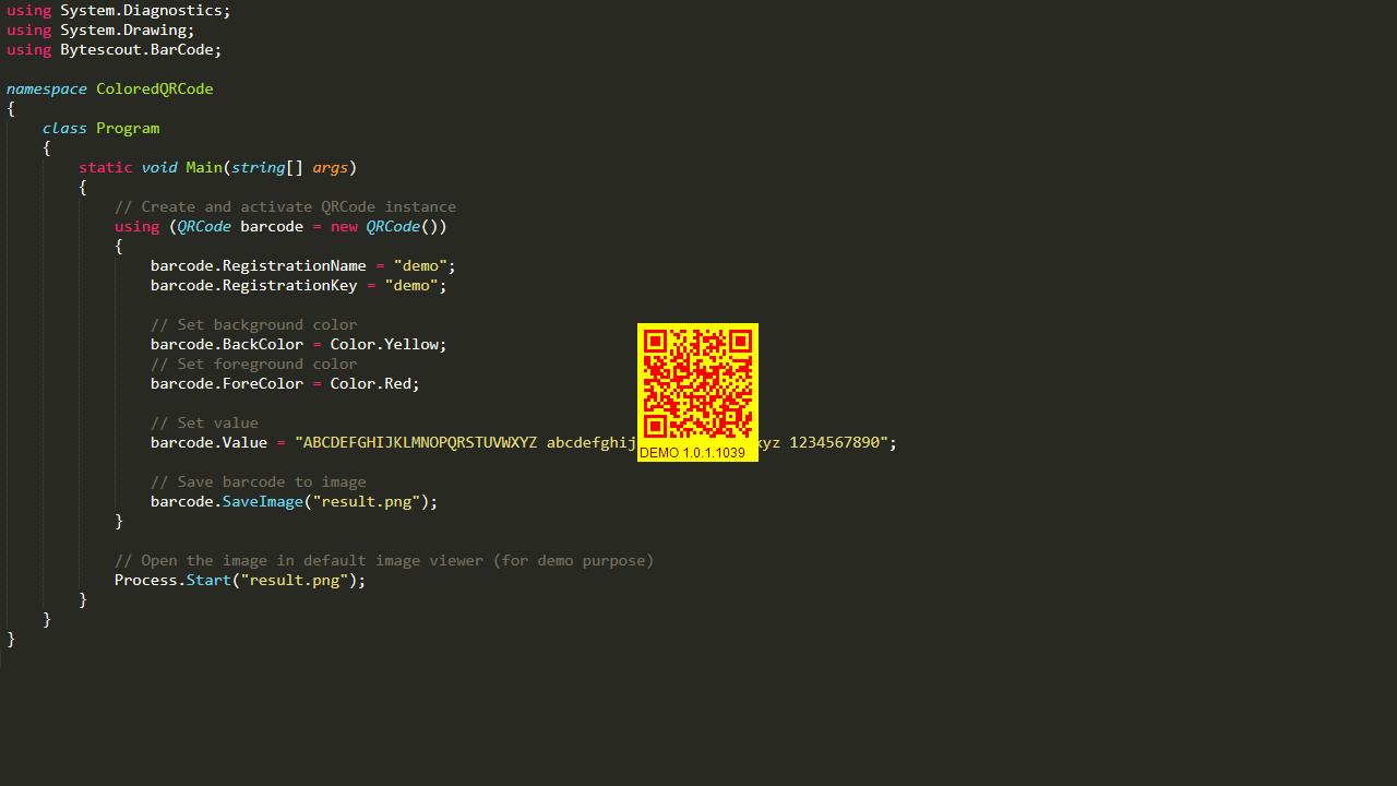 ByteScout QR Code SDK 1.5.0