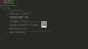 QR Code SDK - Create QR Code with Binary Data