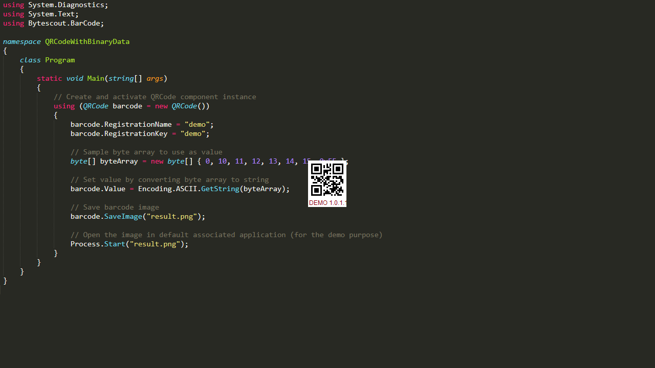 QR Code SDK - Generate QR Codes, Add Images to QR Code