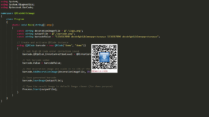 QR Code SDK - Create QR Code with Image