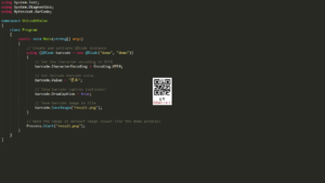 QR Code SDK - Create QR Code with Unicode Values