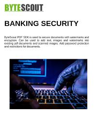 Whitepaper Banking PDF SDK
