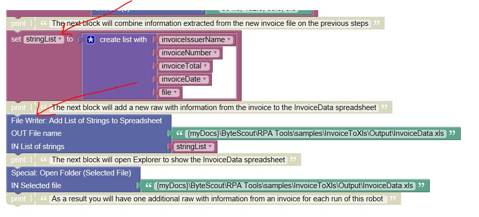 Extract Invoice Data