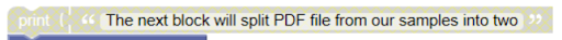 Split PDF FIles into Two