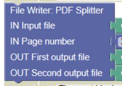 PDF Splitter Robot