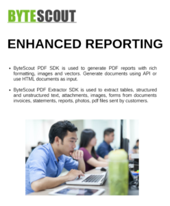 Enhanced Reporting