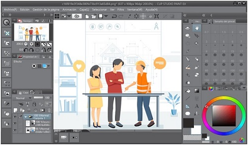 Editors Clip Studio