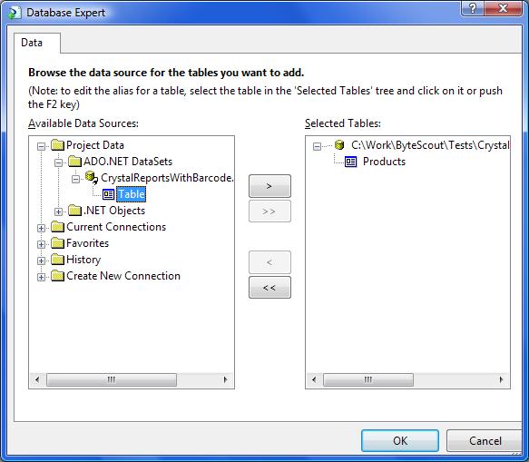 Adding dataset