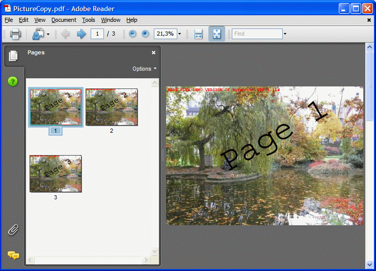 The same picture is duplicated on 3 different pages in PDF document generated by Bytescout.PDF