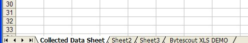 Renamed worksheet in existing XLS spreadshett