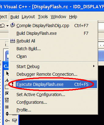 Tutorial: how to display flash movie (SWF) in Visual C++ application