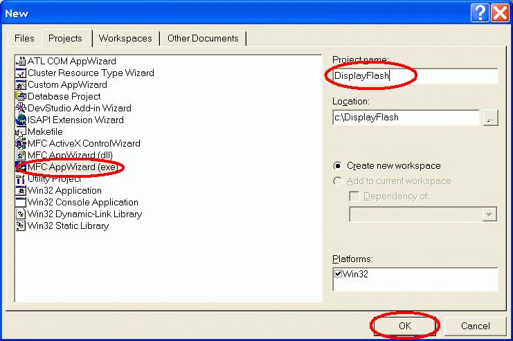 Visual C++ wizard