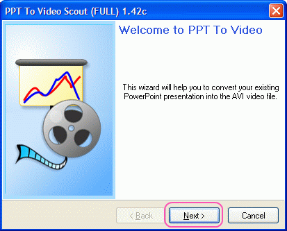 Bytescout PPT To Video Scout welcome page