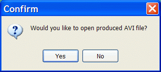 Confirm if you want to open