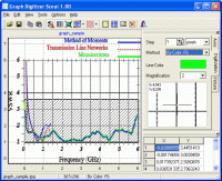 Graph Digitizer Scout main window (click to enlarge)