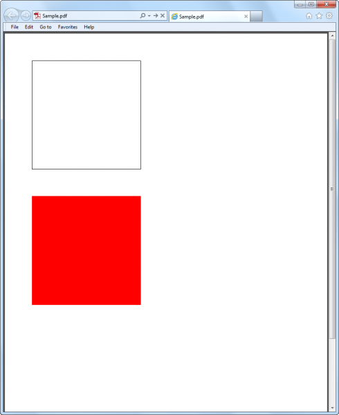 How To Draw Rectangles When Creating Pdf Document With Javascript